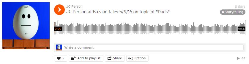 JC @ Bazaar Tales, 5 Sept 2016