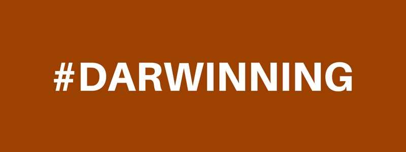 #DARWINNING