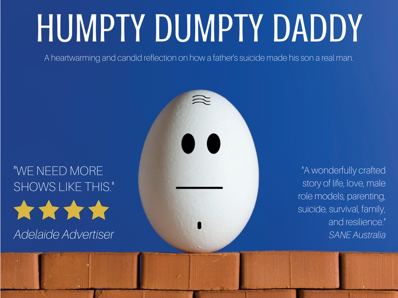 JC Clapham in HUMPTY DUMPTY DADDY